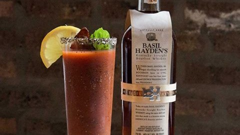 Dad's Bourbon Mary (Courtesy of Basil Hayden)